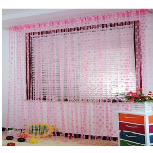 New panipat textile zone 183 cm (6 ft) Tissue Window & Door Curtain Single Curtain