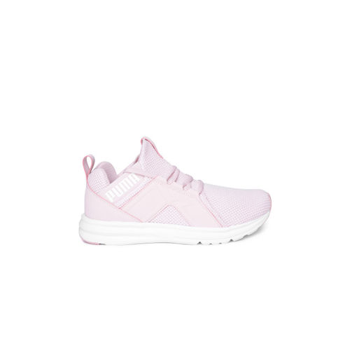 Buy Puma Women Pink Enzo Weave Running Shoes online