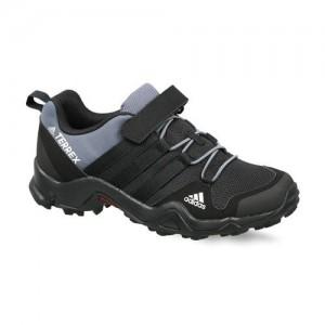 Adidas Kids Black & Grey TERREX AX2R CF Hiking Shoes