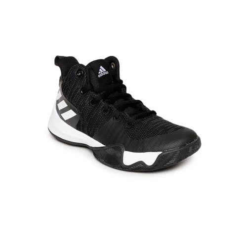 Adidas Kids Black EXPLOSIVE FLASH K Basketball Shoes