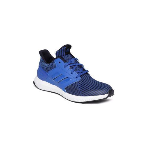Adidas Kids Blue RapidaRun Knit Running Shoes