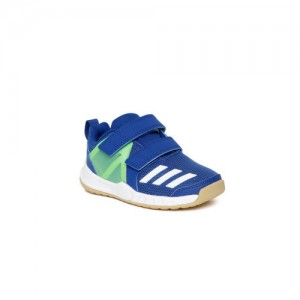 Adidas Kids Blue & Green FORTAGYM CF Training Shoes