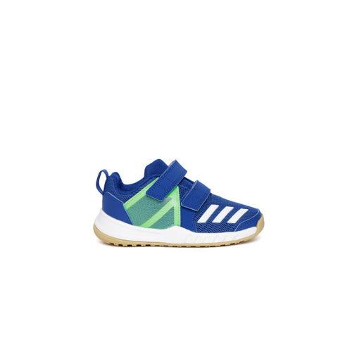 Adidas Kids Blue & Green FORTAGYM CF Training Shoes