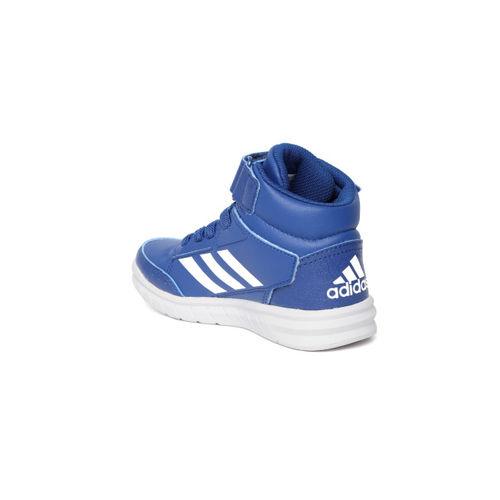 Adidas Kids Blue Altasport Mid EL Training Shoes