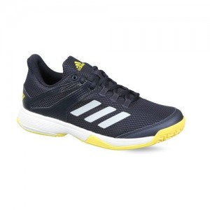 Adidas Kids Navy Blue Solid Adizero Club K Tennis Shoes