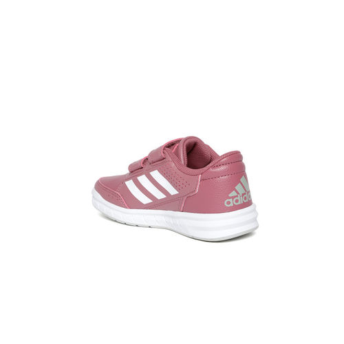 0dfc3a8c44521e Buy Adidas Kids Dusty Pink ALTARUN CF Training Shoes online ...