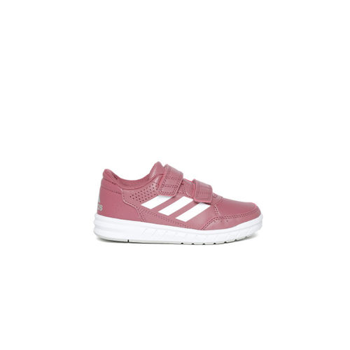 new style e4c63 36a88 ... Adidas Kids Dusty Pink ALTARUN CF Training Shoes ...