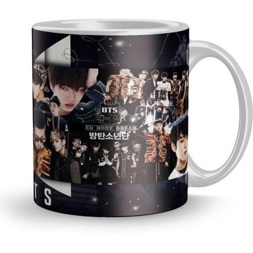 Earnam BTS Boys Gift 320Ml Multicolor (1630 ) Ceramic Mug