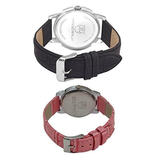 BigOwl Analogue Multicolour Dial Men' and Women' Wrist Watch
