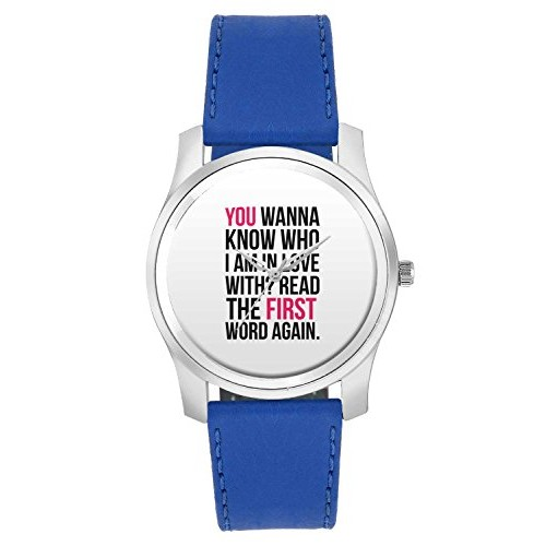 BigOwl I Am In Love With You | For Couples Him/Her Fashion Watches for men