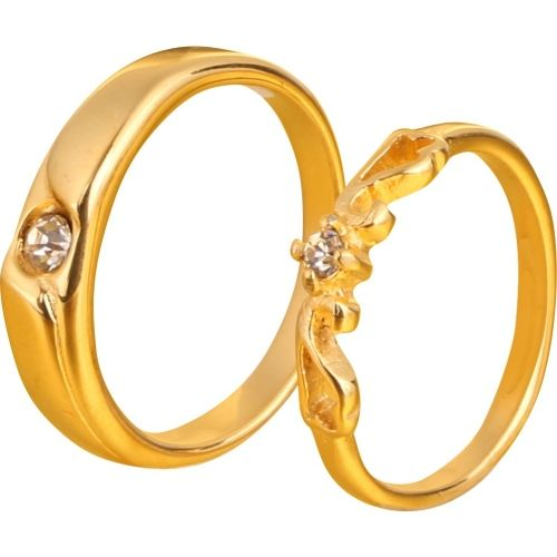 Magic Love Couple Rings for Girls and Boys Best Valentines Day Gift Brass Ring Set