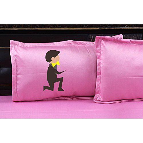 Buy Yaya Cafe Wedding Gifts Cute Doodle Couple Bedsheet With 2