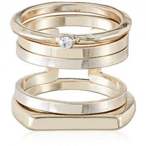 Accessorize Ring for Women (Golden) (MN-29426981002)