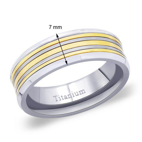 Peora Men's Titanium Ring