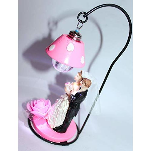 Radhe Enterprise Khilona Store Couple Special Valentine Day Lighting Gift (Pink)