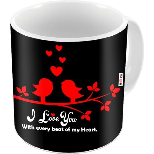 MEYOU Romantic Gifts Surprise Printed For Husband Wife Couple Lover Girlfriend Boyfriend Fiance Fianc On