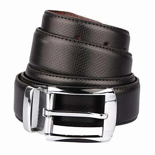 Amicraft Men's Combo Pack of Multicolour Faux Leather Wallet and Belt Gift Set