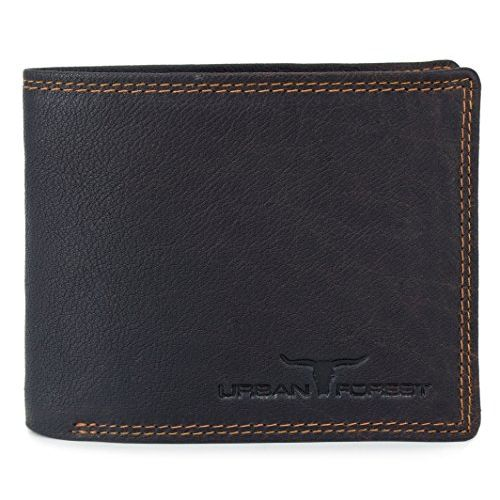 Urban Forest Cooper Brown Leather Wallet and Belt Combo Gift Set for Men - Classic Brown Leather Wallet and Brown Leather Belt Combo