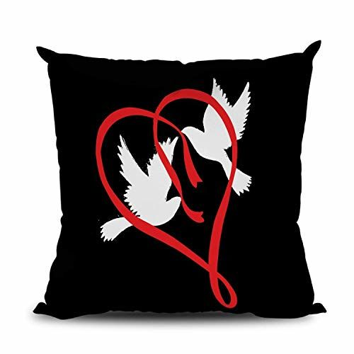 OddClick Love Graphics for Couples, Him&Her, Someone Special, Love Birds, Girlfriend, Boyfriend Valentine's Gift, Anniversary, Birthday Gift Pack of One(1)
