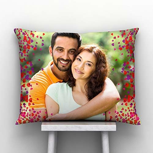 Generic GiftsOnn Happy Valentine's Day Personalized Pillow/Cushion Cover with Filler (12