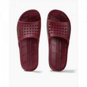 Sole Threads Men Maroon Grey APOLLO Slides