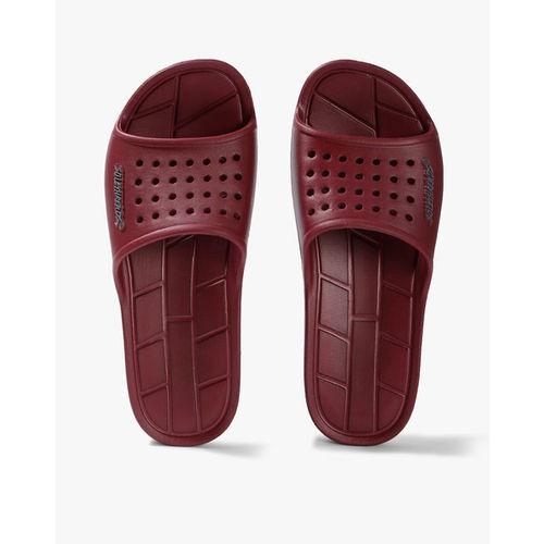 bc0545bc44 Buy Sole Threads Men Maroon Grey APOLLO Slides online   Looksgud.in