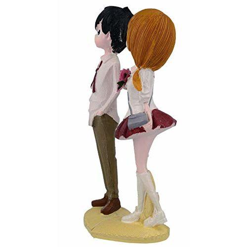 WebelKart by JaipurCrafts Designer Romantic Valentine Love Couple Statue Showpiece Gifts-20 cms