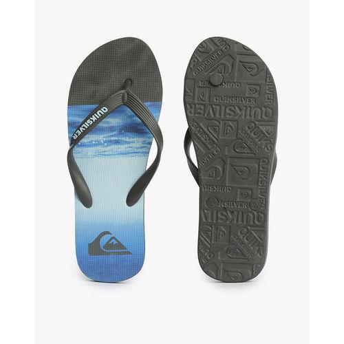 QUIKSILVER Printed Thong-Style Flip-Flops