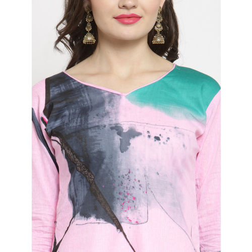 Kvsfab Designer Cotton Print Un-stitched Dress Material