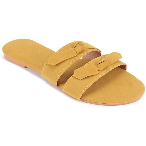 PKKART Women Yellow Flats