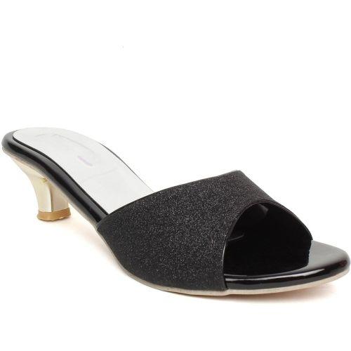 BELLA TOES Women BLACK Heels