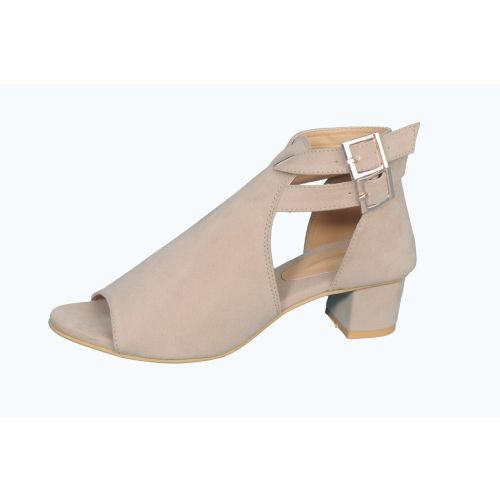 SHOE CRAFT Beige Synthentic Heels