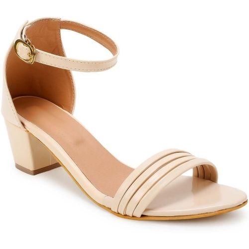 STEPEE Women Beige Heels