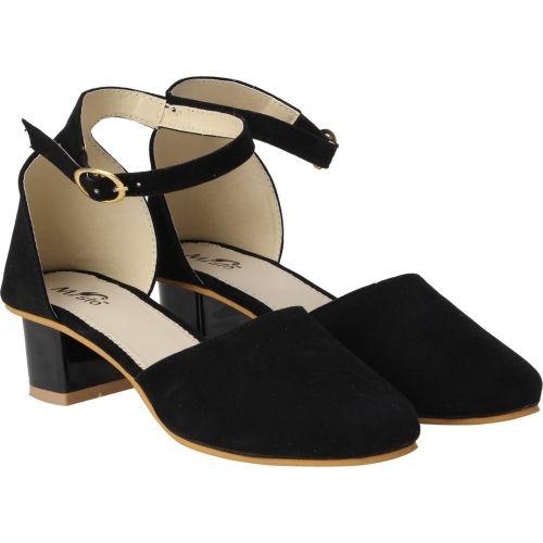 eeeffef42453 Buy misto Women BLACK Heels online