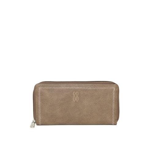 Baggit Women Brown Solid Zip Around Wallet