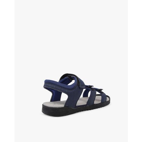 Puma Unisex Navy Blue Lime NU IDP Sports Sandals