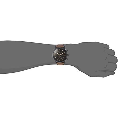 Fossil Analog Black Dial Men's Watch - FS5437