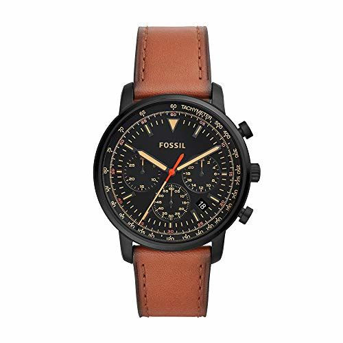 Fossil Goodwin Analog Black Dial Men's Watch-FS5501