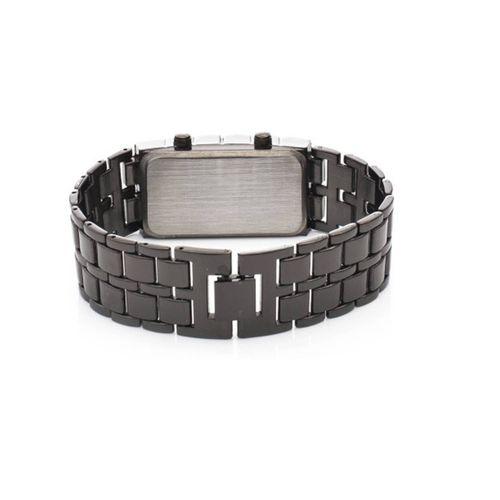 Skmei Metal bracelet Blue Led Watch For Men, Boys