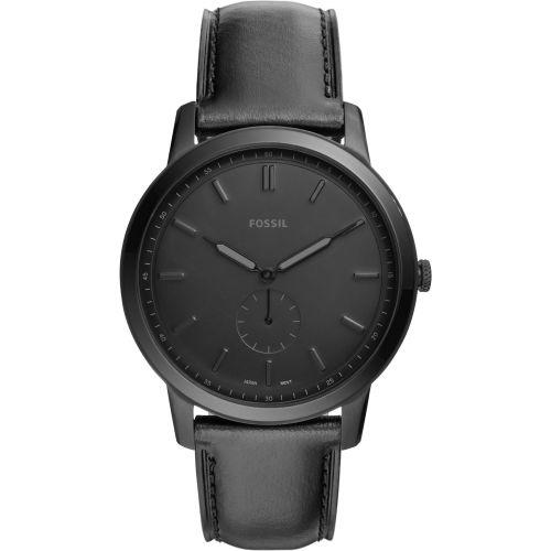 Fossil Black Round Analog Watch
