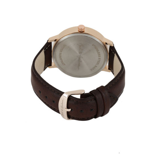 Mast & Harbour Men Silver-Toned Analogue Watch MH13-B