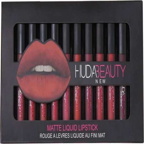 Huda Beauty 12 Multicolor LiquidMatte