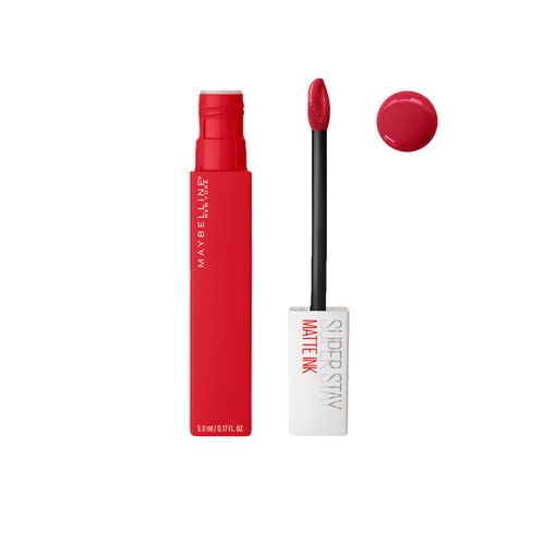 Maybelline New York Super Stay Matte Ink Liquid Lipstick, Ambitious, 5 ml