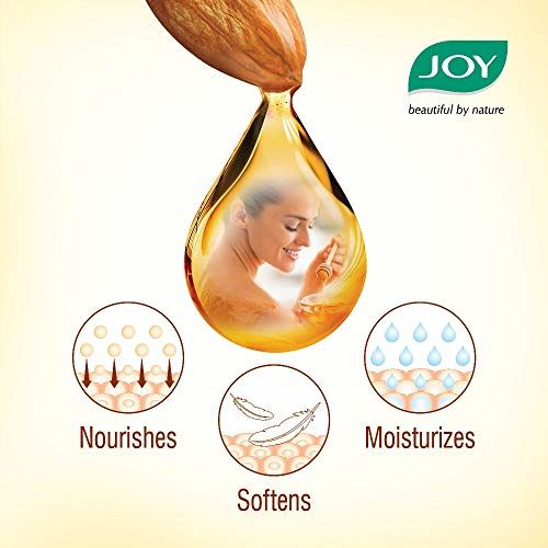 Joy Honey & Almonds Advanced Nourishing Body Lotion 500 ml, For All Skin Type, Ideal For Men & Women