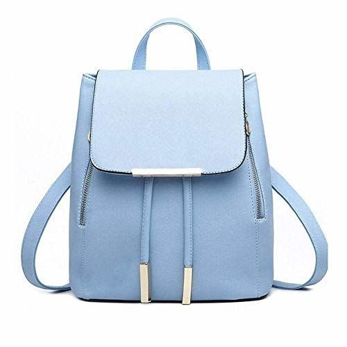 Bizanne Fashion Blue Attractive College Bags Backpacks