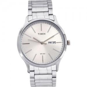 Timex TW00ZR254 Silver Round Analog Watch