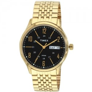 Timex Golden Round Analog Watch