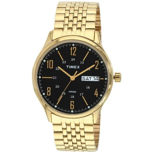 Timex Golden Round Analog Watch
