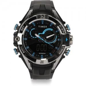 Timex Black Round Analog Watch