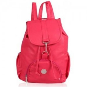 d09be6a8b54a ONLAND PINK Non Leather Back Pack Bag 2.5 L Backpack
